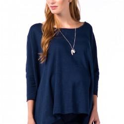 Lacivert Tunik 2015 Hamile Kıyafetleri