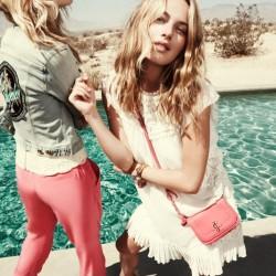 Püsküllü Elbise Juicy Couture 2015 İlkbahar Koleksiyonu