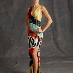 Rengarenk Elbise Moschino 2015 Modelleri
