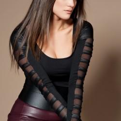 Siyah Bluz Olgun Orkun 2015 Modelleri