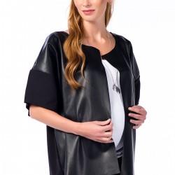 Siyah Ceket 2015 Hamile Kıyafetleri