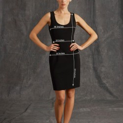 Siyah Elbise Moschino 2015 Modelleri