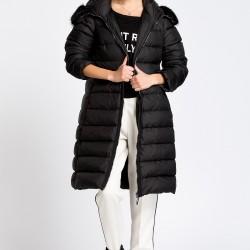 Siyah Mont 2015 Moncler Kış Giyim Modeli