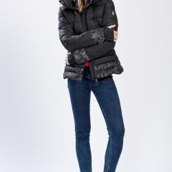 Siyah Mont 2015 Moncler Kış Giyim Modelleri