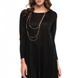 Siyah tunik 2015 Vania Camelia Modelleri