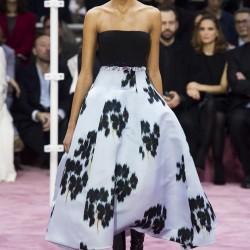 Straplez Elbise Christian Dior 2015 İlkbahar-Yaz Modelleri