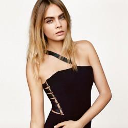 Tek Omuz Elbise Topshop 2015 İlkbahar Modelleri