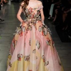 Çiçekli Elbise Elie Saab 2015 İlkbahar - Yaz Haute Couture Koleksiyonu