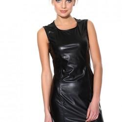 Şık Siyah Batik Yeni Sezon Elbise Modelleri