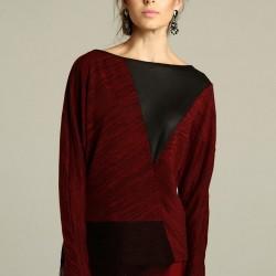 Bluz Trend Renk Marsala Modelleri