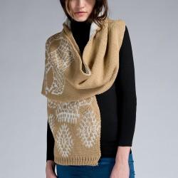 Camel Atkı Twist Yeni Sezon Modelleri