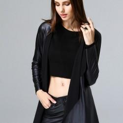 Deri Siyah Hırka 2015 Laranor Modelleri