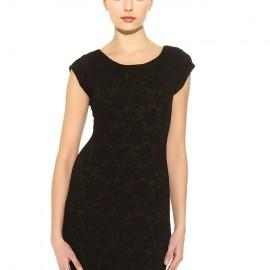 Jakarlı Siyah Mini Batik Yeni Sezon Elbise Modelleri