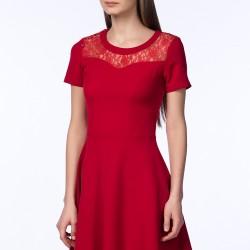 Kırmızı Elbise Mixray Sevgililer Gününe Özel Koleksiyon
