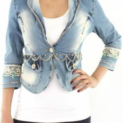 Kot Yeni Taşlı Ceket Modelleri