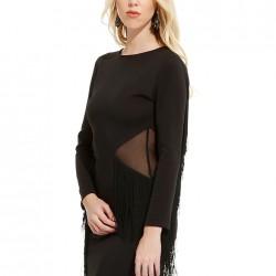 Püsküllü Elbise Alexa Dash Yeni Sezon Modelleri