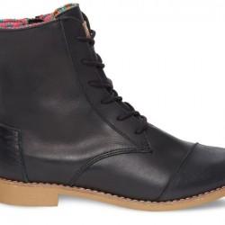 Sivri Burun Siyah Toms 2015 Ayakkabı Modelleri