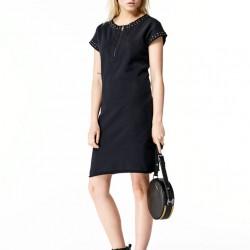 Siyah Elbise Diesel 2015 İlkbahar-Yaz Modelleri
