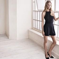 Siyah Elbise Mango 2015 İlkbahar Modelleri
