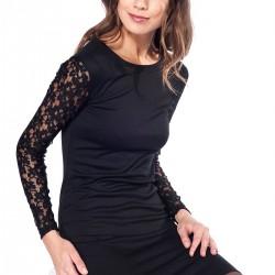Siyah Elbise Pretty Mark 2015 Modelleri