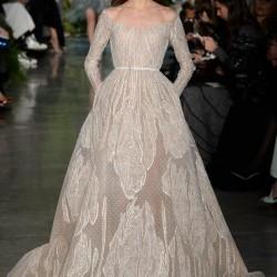 Uzun Kol Elbise Elie Saab 2015 İlkbahar - Yaz Haute Couture Koleksiyonu