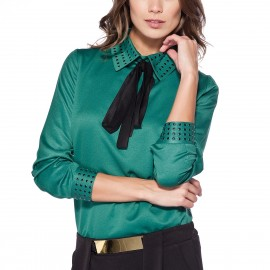 Yeşil Bluz Pretty Mark 2015 Modelleri