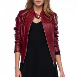 Yeni 2015 Deri Ceket Modelleri