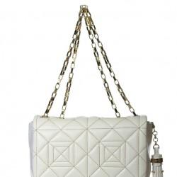 Zincir Detaylı Beyaz 2015 Versace Çanta Modelleri