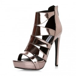 Şık Yeni Sezon Parlak Topuklu Ayakkabı Modelleri