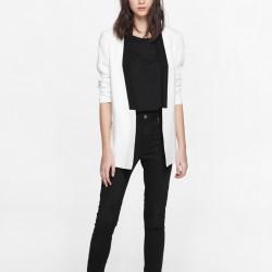 Beyaz Mango Blazer Ceket Modelleri