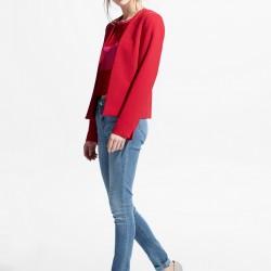 Kırmızı Mango Blazer Ceket Modelleri