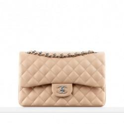 Kuzu Derisi Pudra Çanta Chanel Çanta ve Ayakkabı Modelleri