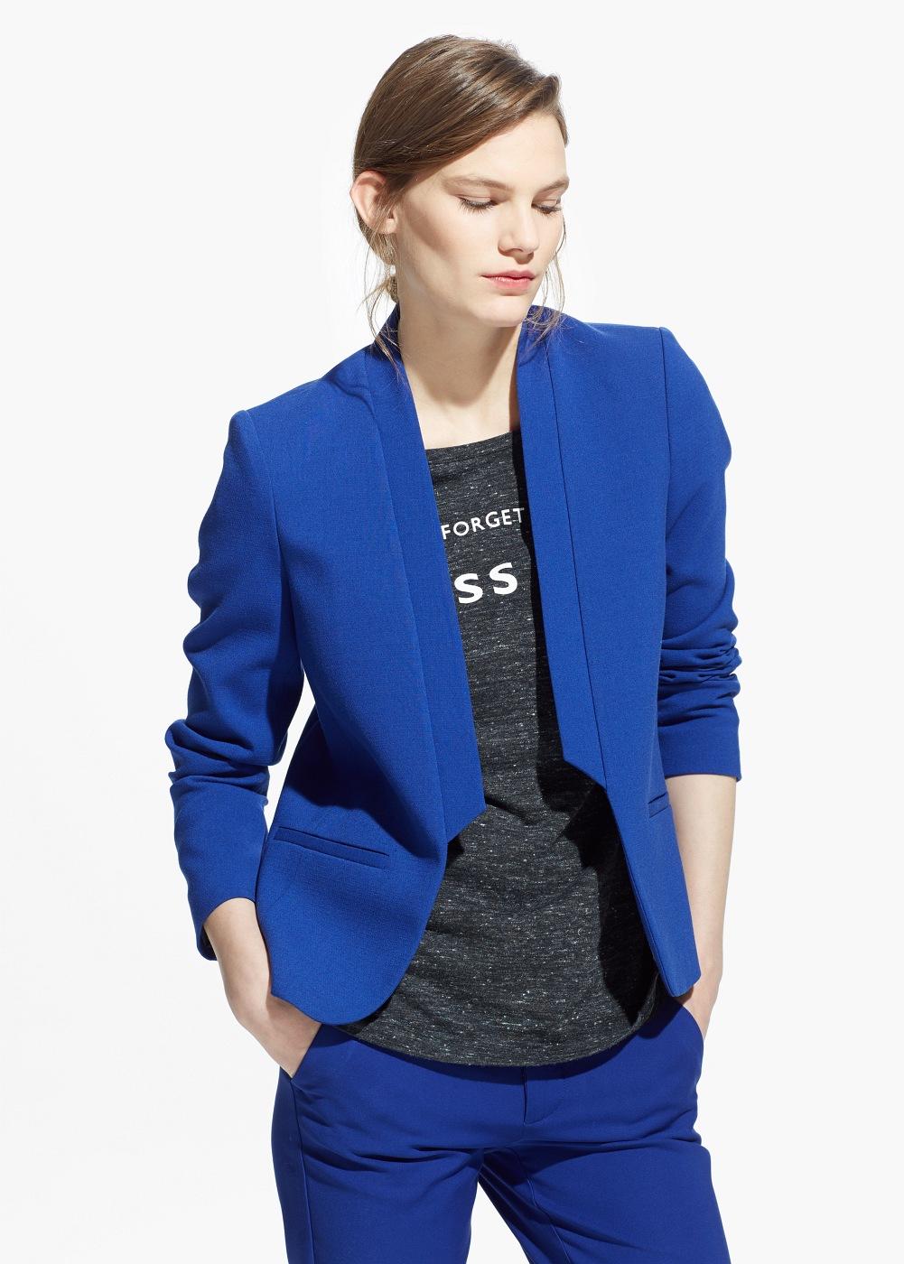 Mavi Mango Blazer Ceket Modelleri