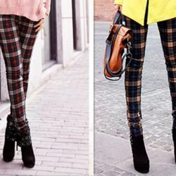 Mevsimlik Yeni Sezon Ekose Pantolon Modelleri