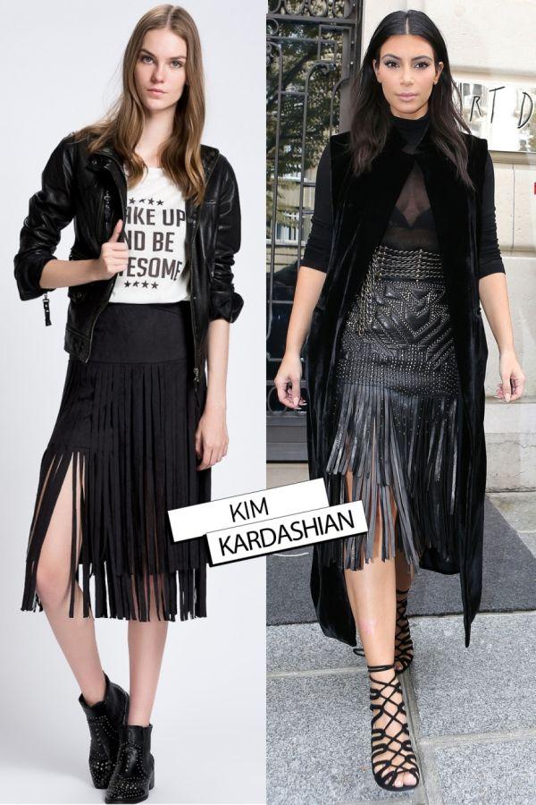 Püsküllü Siyah 2015 Etek Modelleri
