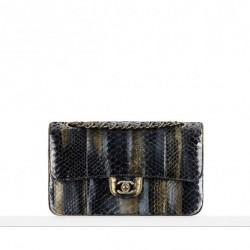 Piton Derisi Abiye Çantası Chanel Çanta ve Ayakkabı Modelleri