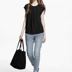 Siyah Mango 2015 Bluz Modelleri