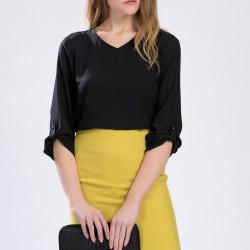 Siyah Setre 2015 Bluz Modelleri