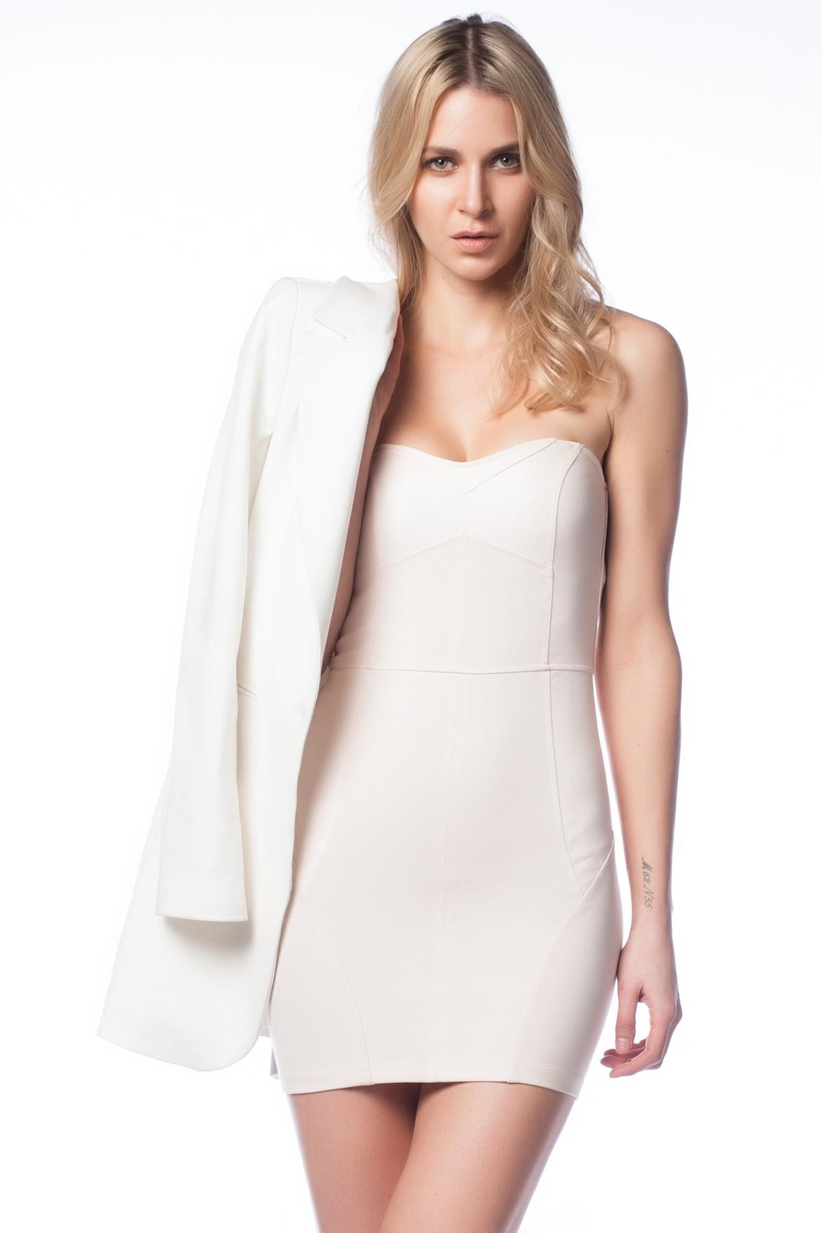 Straplez Elbise Jimmy Key Yeni Sezon Modelleri