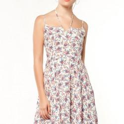 Çiçek Desenli adL 2015 Elbise Modelleri