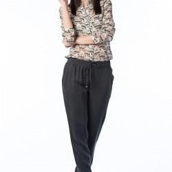 Gri Salaş Pantolon Nişantaşı Yeni Sezon Modelleri