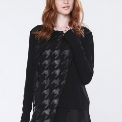 Kazayağı Siyah Bluz Naive 2015 Modelleri