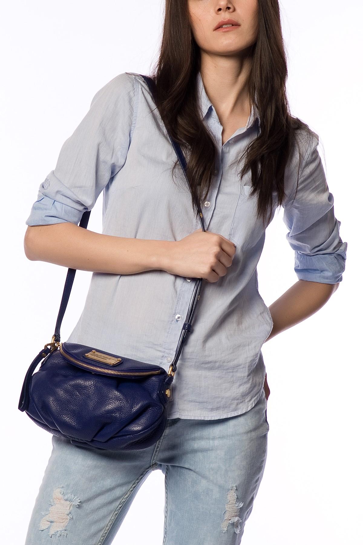 Koyu Mavi Marc Jacobs 2015 Çanta Modelleri