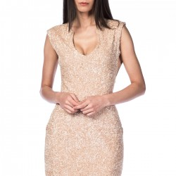 Pudra Mini Elbise NG Style Yeni Sezon Modelleri