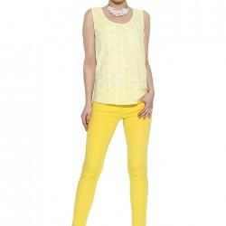 Sarı Pantolon Perspective 2015 Modelleri