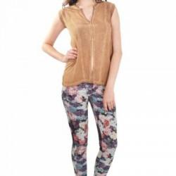 Çiçek Desenli Yazlık Pantolon Modelleri