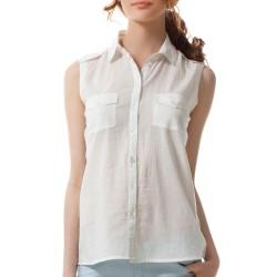 Beyaz 2015 Kolsuz Gömlek Modelleri