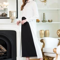 Beyaz Vavist Elbise Modelleri