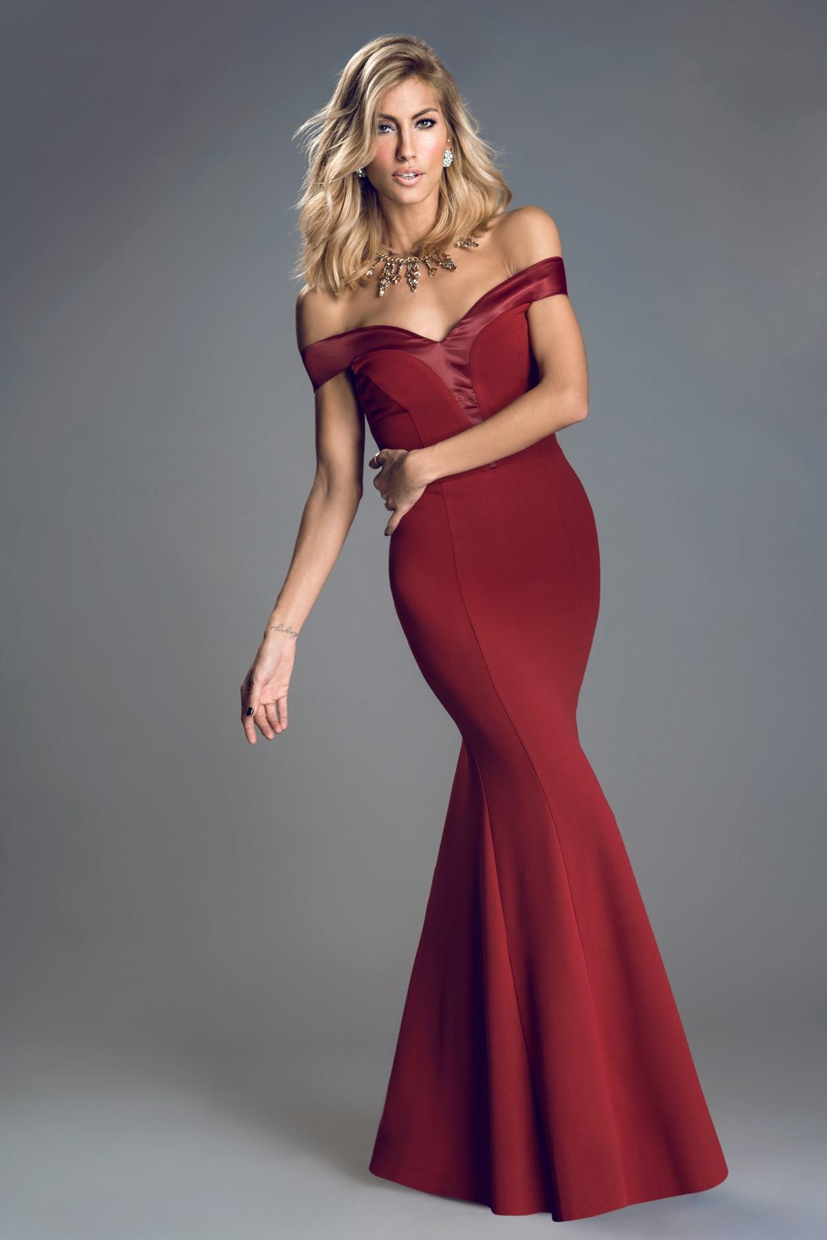 ea108a51c2e67 Bordo 2015 Mezuniyet Elbisesi Modelleri