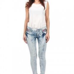 Buz Mavisi Kot Yazlık Pantolon Modelleri